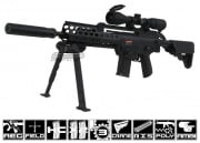 Echo 1 Modular Tactical 2 w/ RIS Carbine AEG Airsoft Rifle (Black)