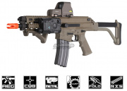 Robinson Armament Full Metal XCR AEG Airsoft Gun (Dark Earth)
