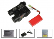 Element 11.1v 900mAh LiPo PEQ16A Battery Package (Black)  (Peq, Battery)