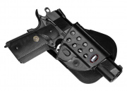 Fobus 1911 Style With Rails Paddle Holster (R1911)
