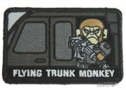 MM Flying Trunk Monkey Velcro Patch ( Black )
