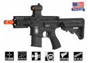 Airsoft GI G4 Daniel Defense 4-Incher Blowback Version AEG Airsoft Gun (Black/Custom)