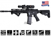 "Airsoft GI G4-A1 Hard w/ Noveske 10"" Rail Blowback Version AEG Airsoft Gun ( Custom )"
