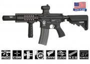 Airsoft GI G4-A2 Silent Death Blowback Version AEG Airsoft Gun (Black)