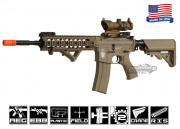 Airsoft GI Desert G4-A5 Dune Knight Carbine Blowback Version AEG Airsoft Gun (Tan/Custom)