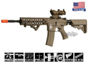 Airsoft GI Desert G4-A5 Dune Knight Carbine Blowback Version AEG Airsoft Gun (Custom/No Iron Sights)