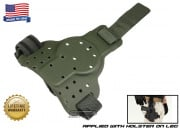 G-Code Tactical Drop Leg Panel (Non-RTI/Ambidextrous) OD