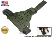 G-Code RTI Tactical Drop Leg Panel ( OD Green )