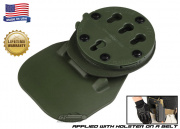 G-Code RTI Paddle Adapter Belt Mounted ( OD Green )