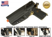 G-Code XST Standard Holster for 1911 (Non-RTI/Left Hand/HOLSTER ONLY) Black