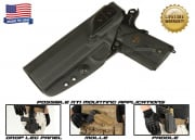G-Code XST RTI Holster for 1911 w/ Rail (Left Hand/HOLSTER ONLY) Black