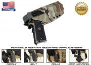 G-Code XST Standard Holster for 1911 (Non-RTI/Right Hand/HOLSTER ONLY) Multicam