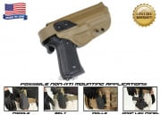 G-Code XST Standard Holster for Beretta M9 and M9 w/ Rail (Non-RTI/Right Hand/HOLSTER ONLY) Coyote