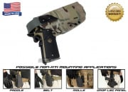 G-Code XST Non-RTI 1911 w/ Rail Standard Right Hand Holster (Multicam)