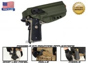 G-Code XST RTI 1911 w/ Rail Right Hand Holster (OD Green)