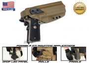 G-Code XST RTI 1911 w/ Rail Right Hand Holster ( Coyote )