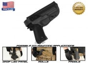 G-Code XST RTI Holster for Beretta M9 and M9 w/ Rail (Right Hand/HOLSTER ONLY) Black