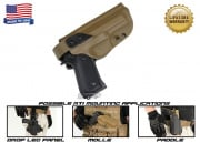 G-Code XST RTI Holster for Beretta M9 and M9 w/ Rail (Right Hand/HOLSTER ONLY) Coyote