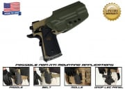 G-Code OSH Standard Holster for 1911 ( Non-RTI / Right Hand / HOLSTER ONLY ) OD