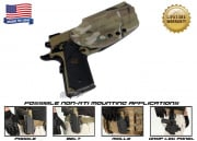 G-Code OSH Standard Holster for 1911 (Non-RTI/Right Hand/HOLSTER ONLY) Multicam