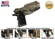 G-Code OSH Standard Holster for 1911 w/ Rail (Non-RTI/Right Hand/HOLSTER ONLY) Multicam