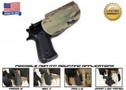 G-Code OSH Standard Holster for Beretta M9 and M9 w/ Rail (Non-RTI/Right Hand/HOLSTER ONLY) Multicam