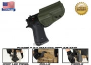 G-Code OSH RTI Holster for Beretta M9 and M9 w/ Rail (Right Hand/HOLSTER ONLY) OD