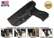 G-Code XST Standard Holster for KWA ATP ( Non-RTI / Left Hand / HOLSTER ONLY ) Black