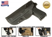 G-Code XST RTI Holster for Beretta M9 and M9 w/ Rail (Left Hand/HOLSTER ONLY) Black