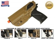 G-Code XST Standard Holster for USP (Non-RTI/Left Hand/HOLSTER ONLY) Coyote
