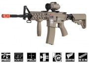 G&G Combat Machine GC16 Raider-L M4 Carbine AEG Airsoft Gun (Tan)