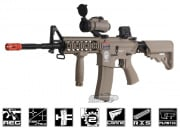 G&G Combat Machine GR15 Raider L M4 Carbine Blow Back AEG Airsoft Gun (Tan)