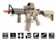 G&G Combat Machine GC16 Raider-S M4 Carbine AEG Airsoft Gun Battery and Charger Package ( Tan )
