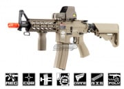 Combat Machine M4 Raider Shorty w/ Polymer RIS Airsoft Gun (Tan/CQB) (Battery and Charger Package)