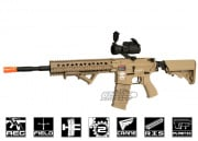 G&G Combat Machine CM16 R8-L M4 Carbine AEG Airsoft Gun Battery and Charger Package (Tan)