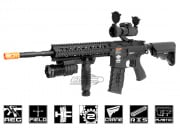 Combat Machine R8-L AEG Airsoft Gun (Battery and Charger Package/Black)