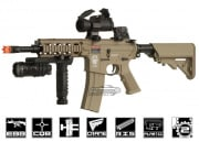 G&G Combat Machine GR16 Rush Blowback M4 Carbine AEG Airsoft Gun (Tan)
