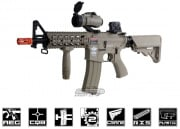 G&G Combat Machine GC16 Raider-S M4 Carbine AEG Airsoft Gun (Tan)