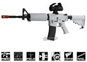 Combat Machine M4-A1 Chione16 Blow Back AEG Airsoft Gun (Winter Snow)