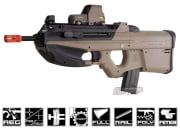 FN Herstal F2000 Airsoft Gun (Dark Earth/Licensed by Cybergun)
