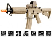 G&G GR16 Light DST Plastic M4 Carbine AEG Airsoft Gun Battery & Charger Package (Tan)