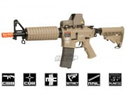 Combat Machine M4 CQB Gas Blow Back Airsoft Gun ( Tan )