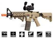 Combat Machine M4 Raider Shorty Gas Blow Back Airsoft Gun ( Tan )