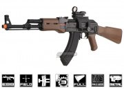 G&G Full Metal/Fake Wood RK47 Blow Back Airsoft Gun