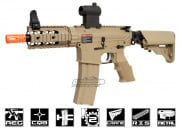 G&G Full Metal TR16 CQW Desert Tan Blow Back AEG Airsoft Gun