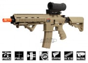 G&G Top Tech Full Metal TR4-18 Light CQB Desert Tan AEG Airsoft Gun
