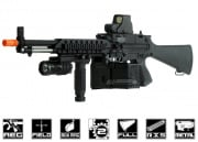 G&P Full Metal US Navy MK23 MG Airsoft Gun (Railed Version)