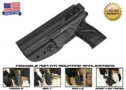 G-Code XST Standard Holster for H&K MK23 (Non-RTI/Left Hand/HOLSTER ONLY) Black