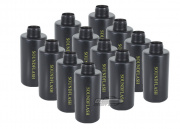Hakkotsu Thunder B CO2 Sound Grenades Cylinder Shell Package - 12 Pack (Black)