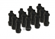 Hakkotsu Thunder B CO2 Sound Grenades Distraction Device Shell Package - 12 Pack (Black)